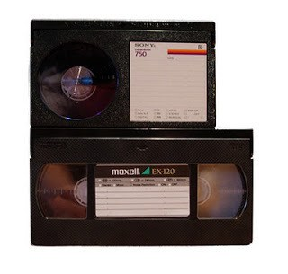 Betamax and VHS is dead