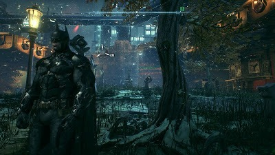 Batman arkham knight ps4 review ergonomictoolbox world of arkham city is breathtaking including a draw distance and level of detail allowing you to see street lamps and lit windows from miles away voltagebd Choice Image