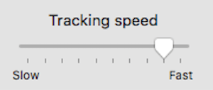 Mouse Tracking Speed